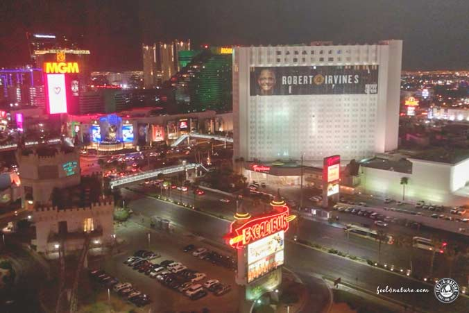 Las Vegas Excalibur Strip View