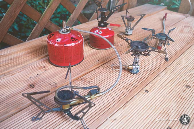 Outdoor Gaskocher Modelle