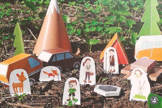Camping Geschenk selber basteln