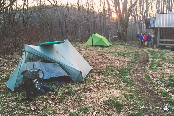 Outdoor Isomatten Test Wandern