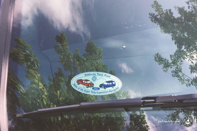 Mietwagen USA Steinschlag Windschutzscheibe