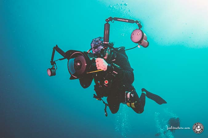 Profi-Unterwasserkamera Sony