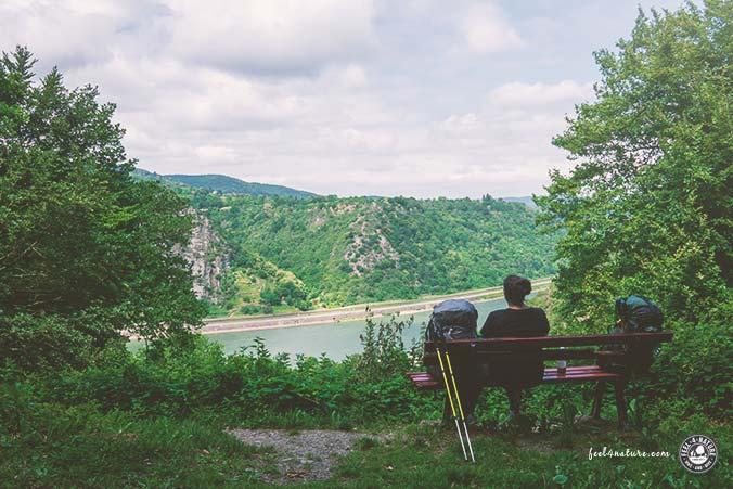Rheinsteig Etappen Mittelrheintal