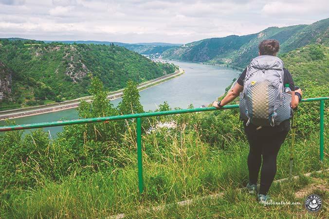 Rheinsteig schönste Etappe unteres Mittelrheintal