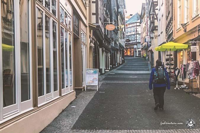 Rheinsteig Siebgebirge Altstadt