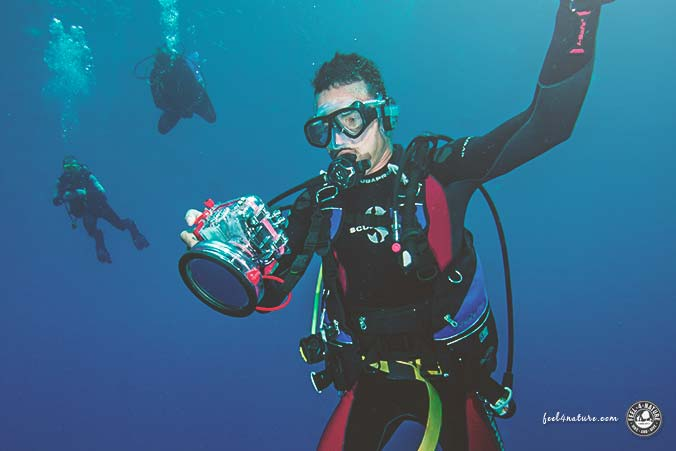 Unterwassergehäuse Sony Nikon Olympus