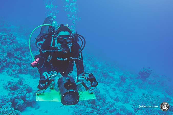 Unterwassergehäuse Video