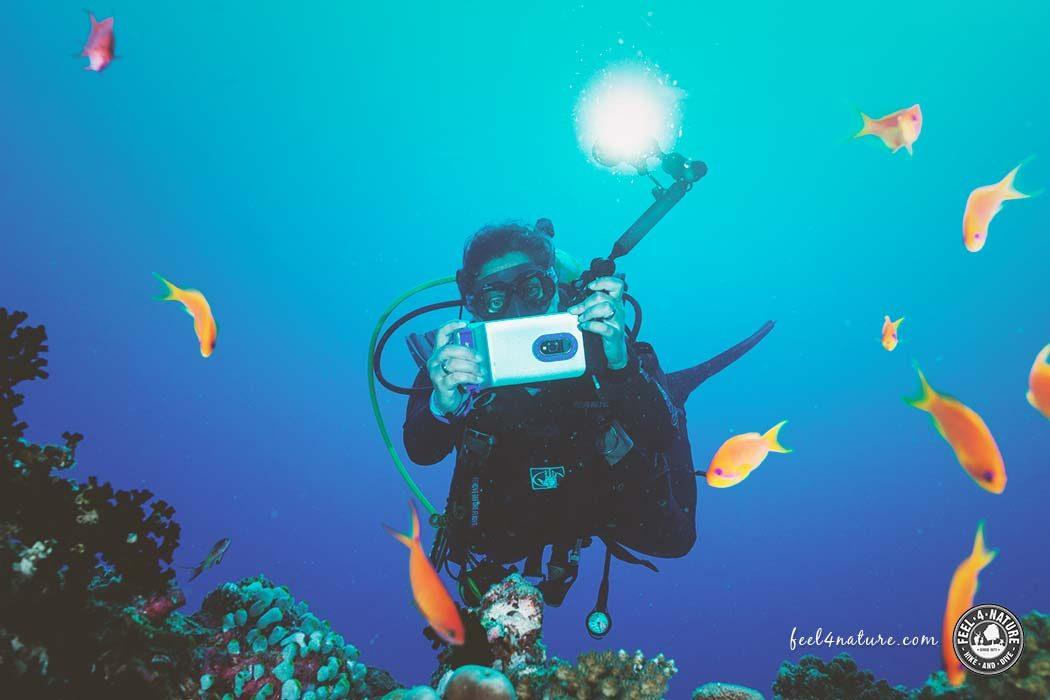 Unterwasserkamera Test