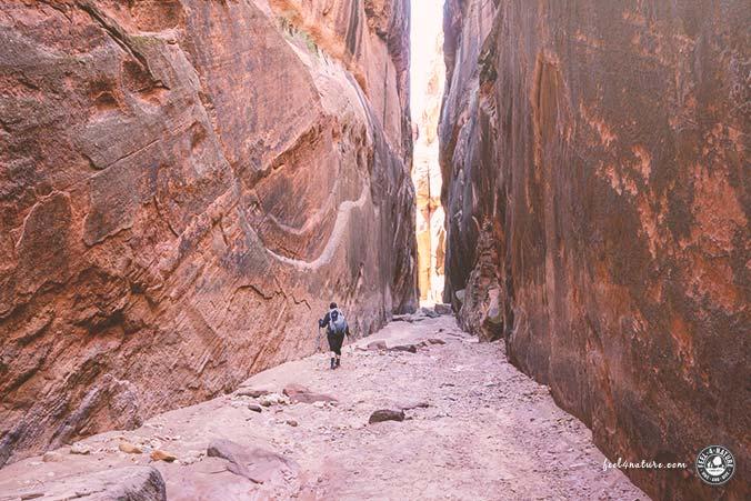 Buckskin Gulch Wanderung Permit