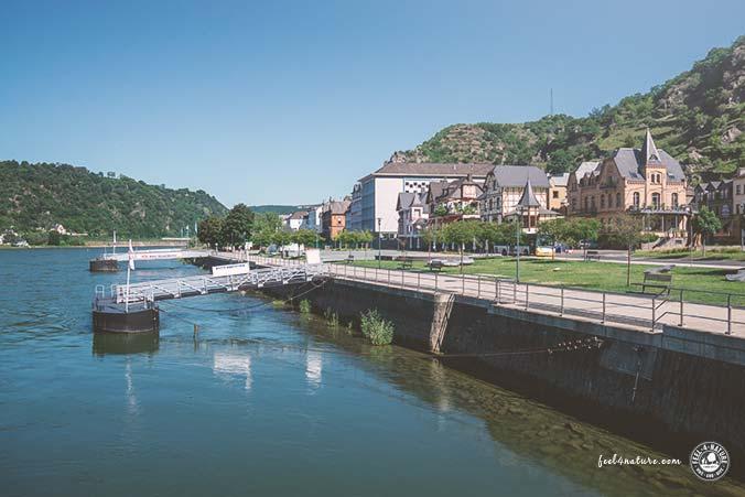 Rheinsteig Unterkunft Fähre
