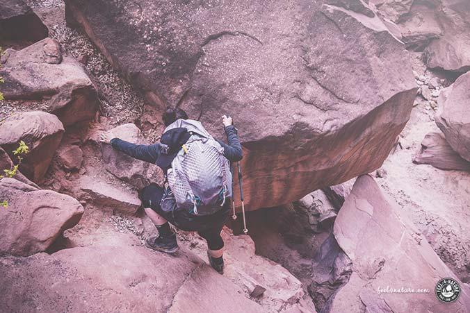 Slot Canyon Klettern