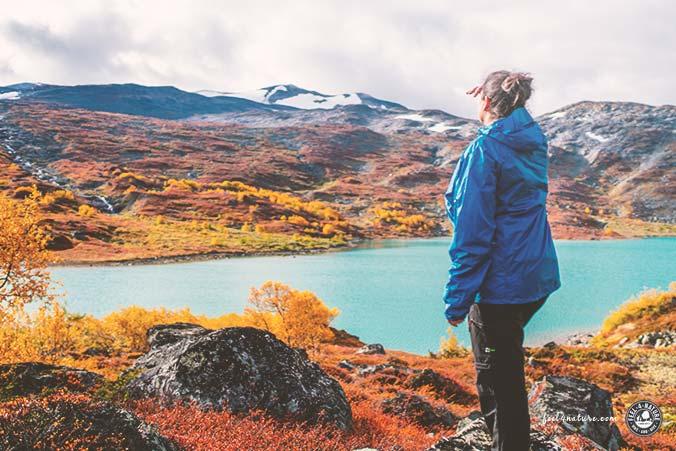 Regenjacke Damen Wandern Trekking