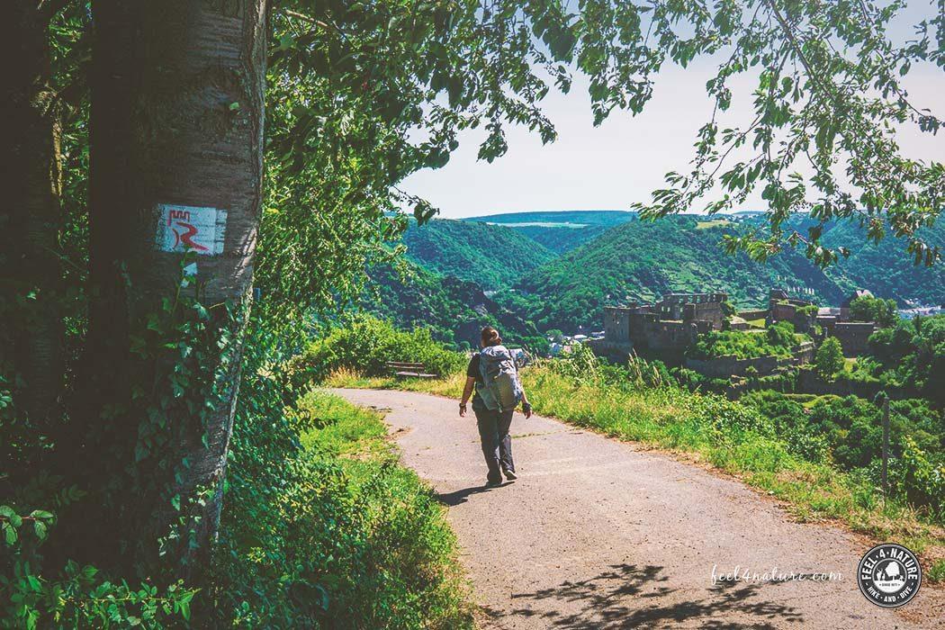 Rheinburgenweg Etappen