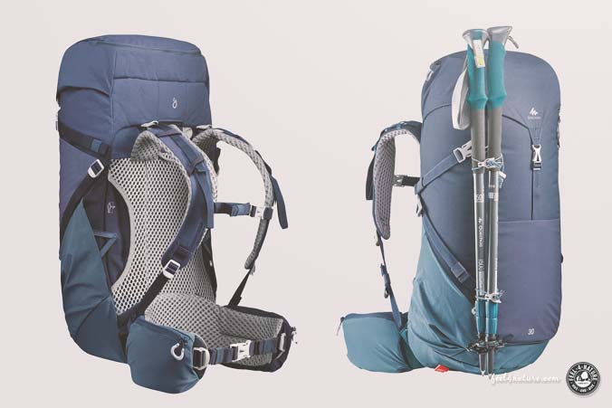 Daypack Decathlon 30l