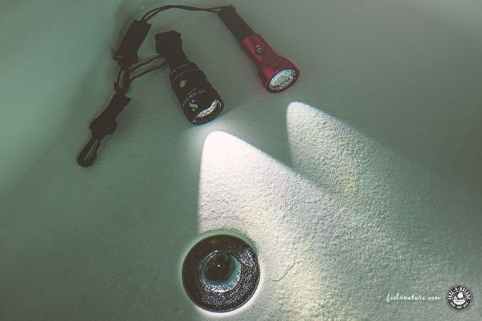 Unterwasserlampen Test