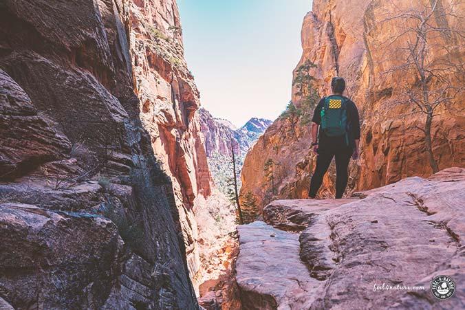 Zion Nationalpark Wanderung Water Canyon