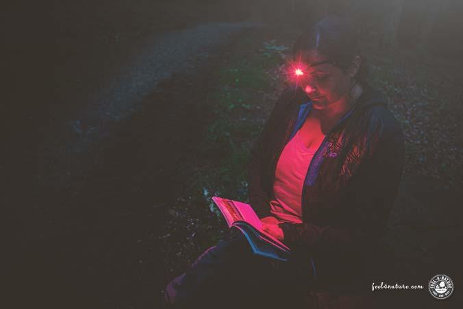 Black Diamond Stirnlampe Rotlicht