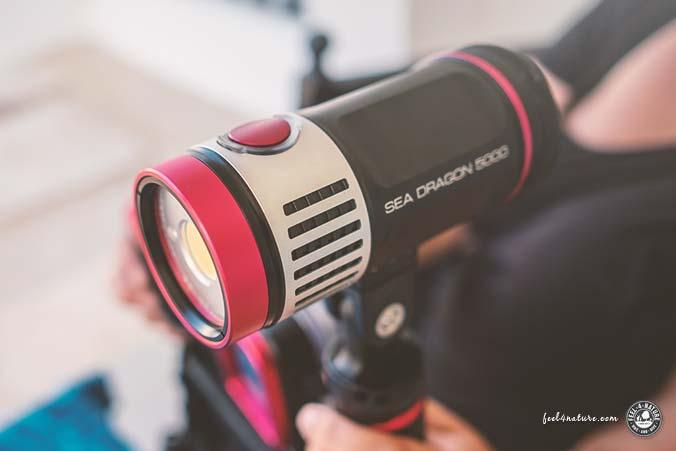 SeaLife SeaDragon 5000F Test