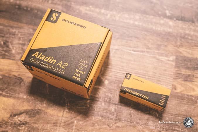 Scubapro Aladin A2 mit Sender